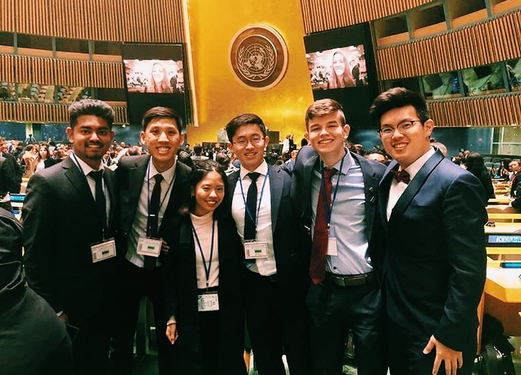 Participating in CWMUN at the UN Headquarters in New York