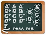 blackboard-with-school-results-grades-with-chalk