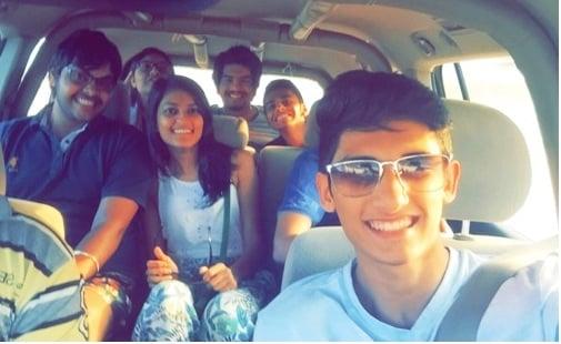 BBA-14 Students visit Desert Safari