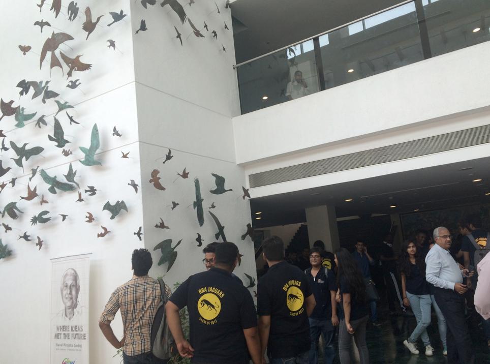 Ideas for CSR soared like the corporate art birds as Jags applied CSR creativity to Godrej & Boyce marketing issues