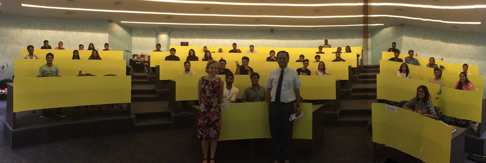 SCSR Guest Speakers in Mumbai