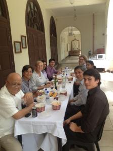 SPJ Faculty Lunch Jan 2013